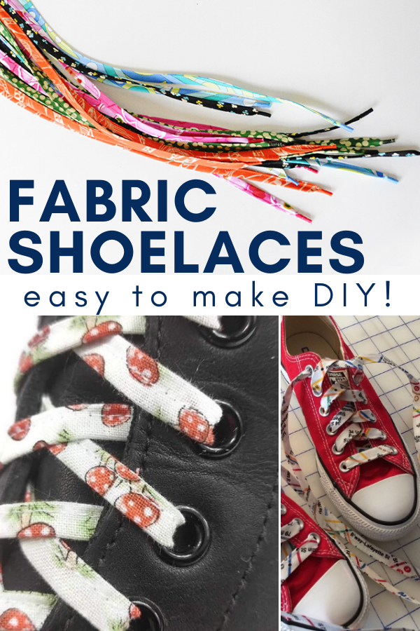 Refresh your sneakers with a few pieces of fabric scraps. This easy to make DIY is the perfect pick me up for your favorite sneakers. #DIY