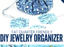 DIY Jewelry Organizer Pattern
