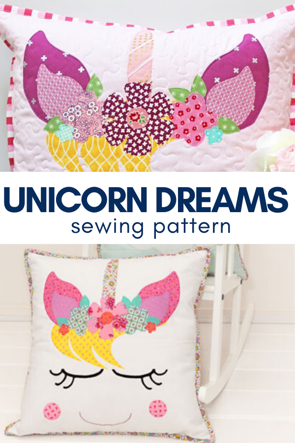 Create sweet unicorn dreams with this adorable sewing pattern.