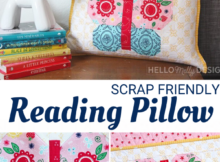 Free Butterfly Reading Pillow Pattern