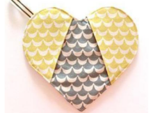 Heart Shaped Potholder Free Pattern