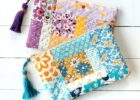 Quilted Tassel Pouch Free Sewing Tutorial