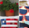 Free Patriotic Scrap Busting Decor Ideas