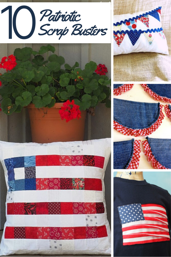 Scrap Busting Patriotic Projects perfect for July 4th