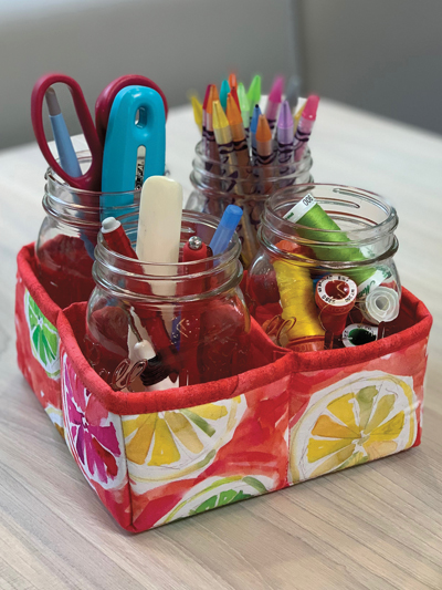 Mason Jar Craft Storage Container