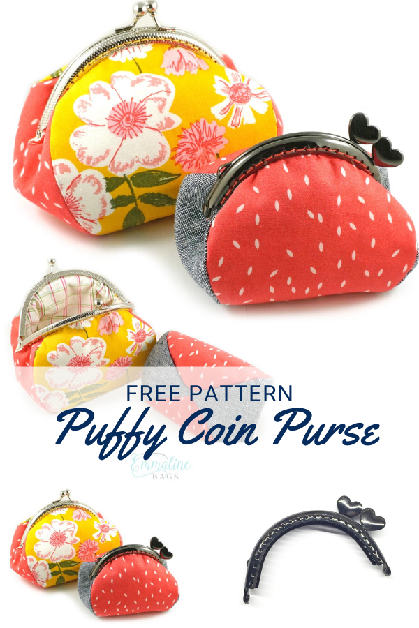 Free Puffy Coin Pouch Sewing Pattern