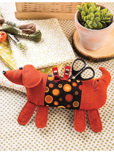 Sew Long, Little Doggie Pincushion sewing pattern and video class