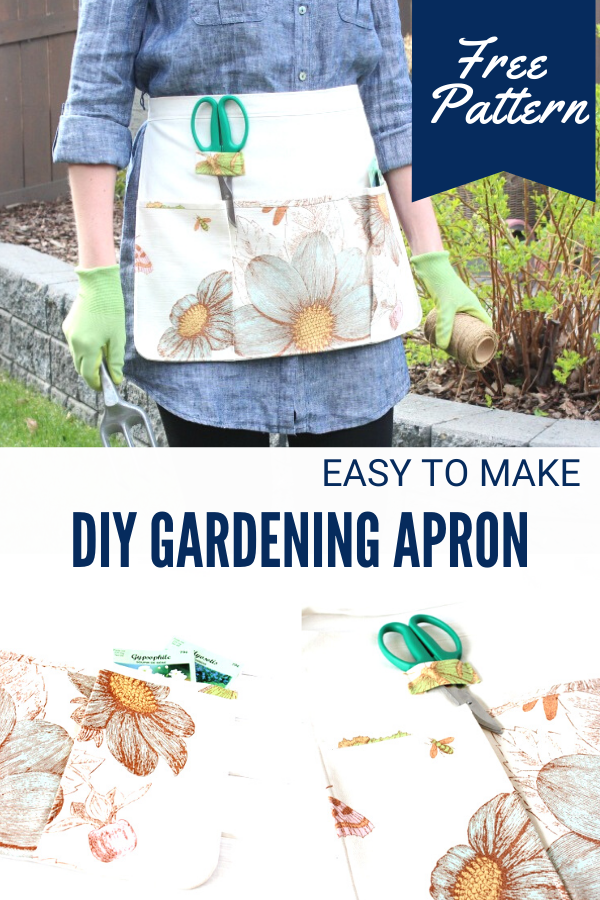DIY Gardening Apron with Pockets