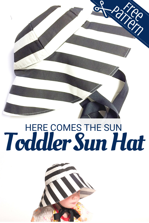 Free Toddler Sun Hat Sewing Pattern