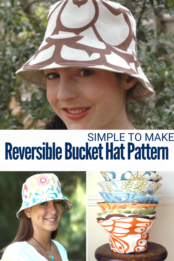 Bucket Hat Sewing Pattern for the whole family