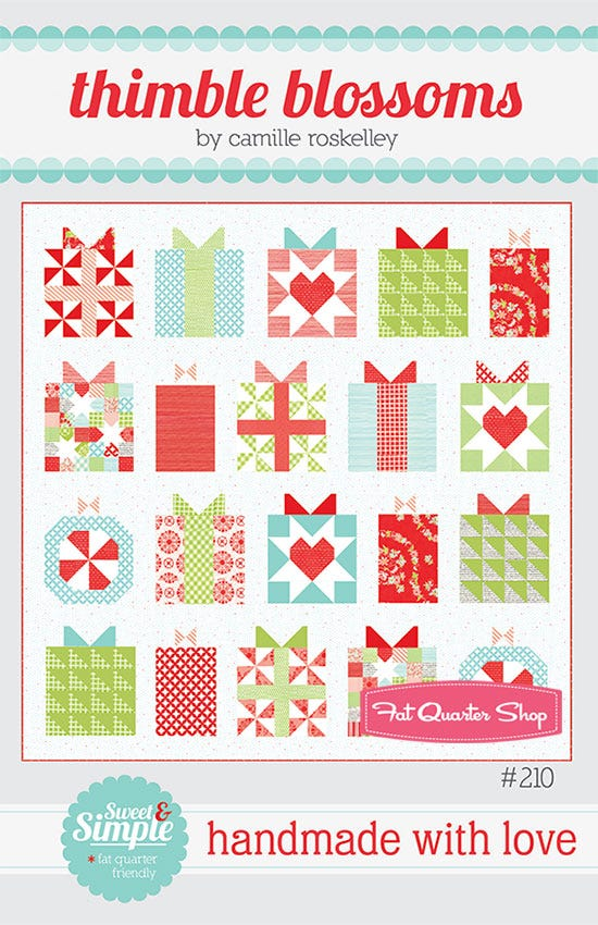 The holidays are coming and we want to plan ahead. That's why we're so excited to start our Handmade with Love Quilt Along. Come join the fun and finish with plenty of snuggle time.