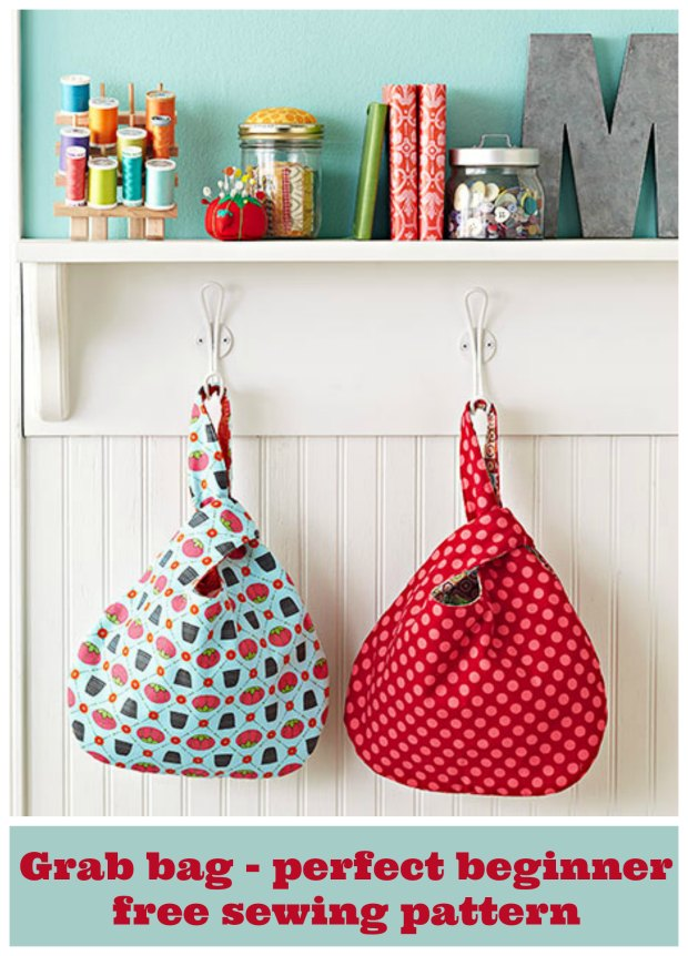 Knot Bag Sewing Pattern perfect for beginners