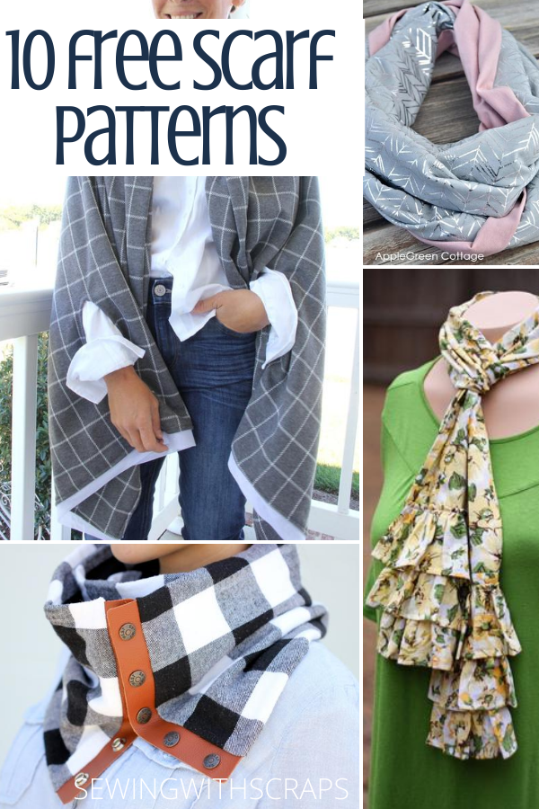 Scarf Sewing Tutorials for easy handmade gifts