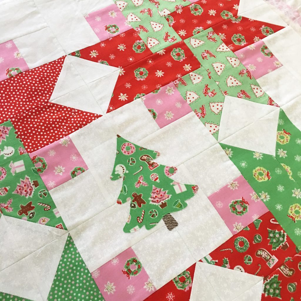 Christmas Tree Mini Quilt Sewing Pattern