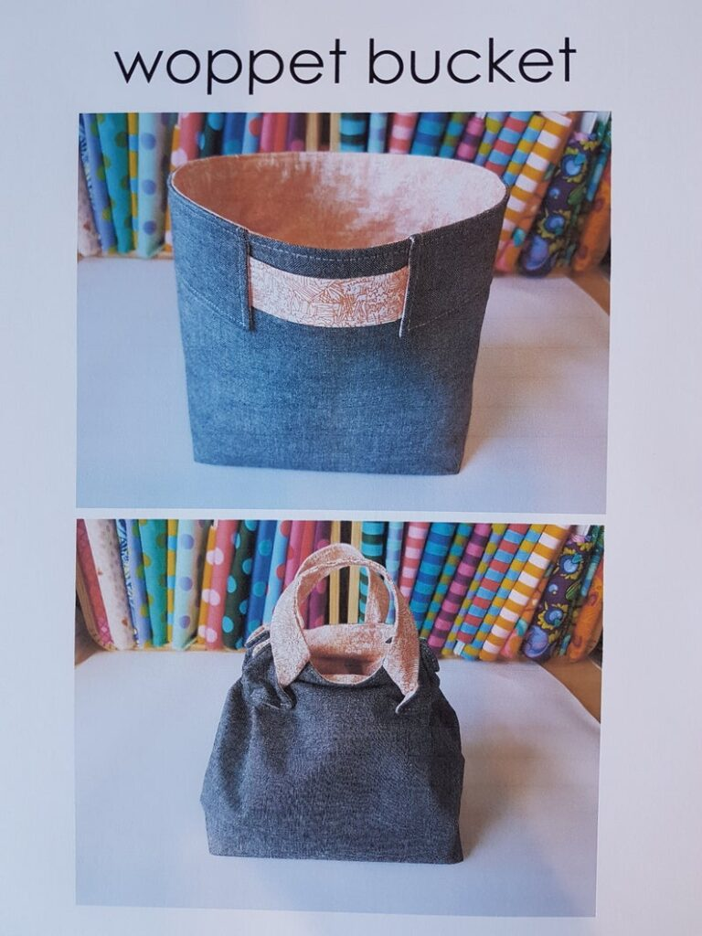 The Woppet Bucket Bag Sewing Pattern