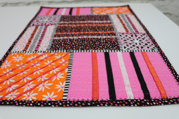 Free Patchwork Placemat Pattern and Tutorial