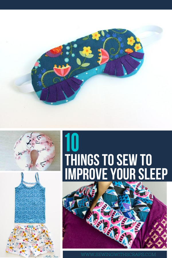 Simple Projects to Sew with Scraps for bedtime