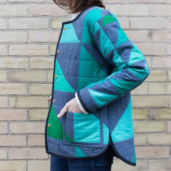 Quilted Tamarack Jacket Sewing Pattern