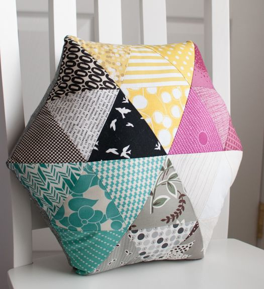 Free Sewing Pattern for a Chair Cushion or Pillow