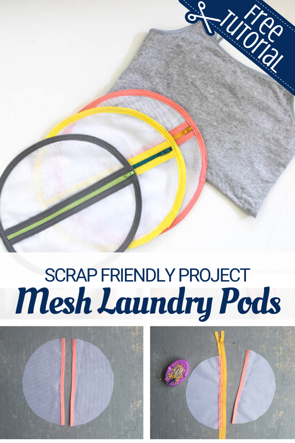 Easy to Make Mesh Laundry Bags for delicates and reusable masks